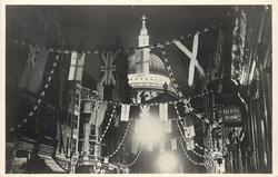 LONDON'S JUBILEE DECORATIONS, ST. PAUL'S CATHEDRAL BY FLOODLIGHT