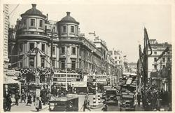 LONDON'S JUBILEE DECORATIONS,  CHARING CROSS AND THE STRAND