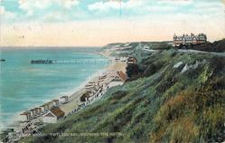 ISLE OF WIGHT, TOTLAND BAY, SHOWING THE HOTEL