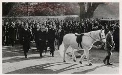 JOCK, KING GEORGE'S FAVOURITE PONY, FOLLOWS HIS LATE ROYAL... SANDRINGHAM