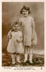 THE PRINCESS ELIZABETH AND PRINCESS MARGARET ROSE