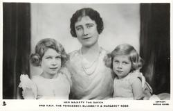 HER ROYAL HIGHNESS THE DUCHESS OF YORK AND T.R.H. THE PRINCESSES ELIZABETH AND MARGARET ROSE