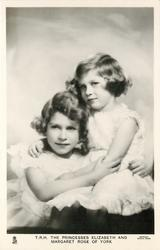 T.R.H. THE PRINCESSES ELIZABETH AND MARGARET ROSE OF YORK