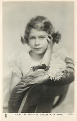 H.R.H. THE PRINCESS ELIZABETH OF YORK