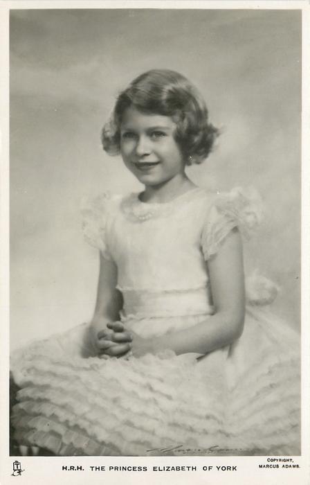 H.R.H. THE PRINCESS ELIZABETH OF YORK