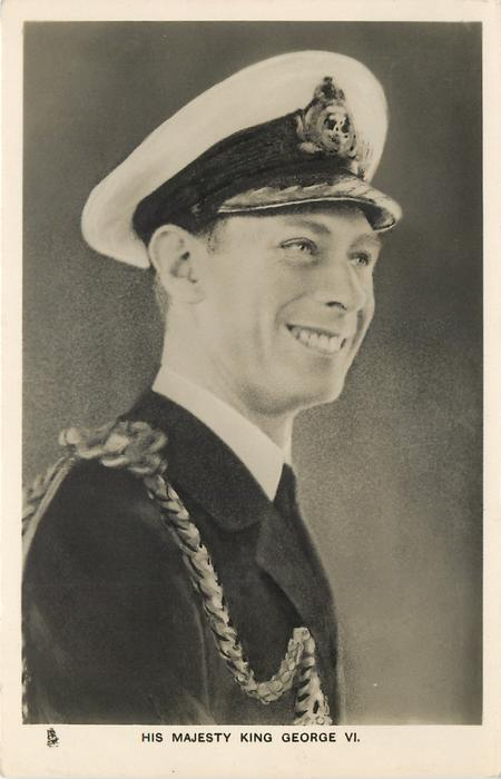 H.R.H. THE DUKE OF YORK or HIS MAJESTY KING GEORGE VI