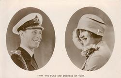 T.R.H. THE DUKE AND DUCHESS OF YORK  images inset in ovals
