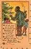 WE ALL HAB MANY UPS AN' DOWNS black family by Xmas tree