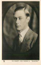 HIS MAJESTY KING GEORGE VI. or H.R.H. THE DUKE OF YORK