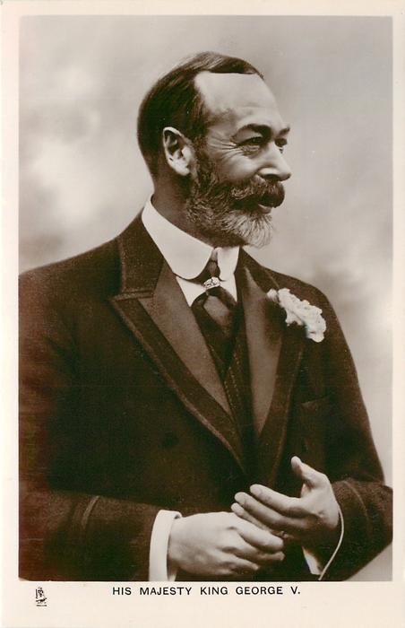 HIS MAJESTY KING GEORGE V.