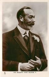 HIS MAJESTY KING GEORGE V.