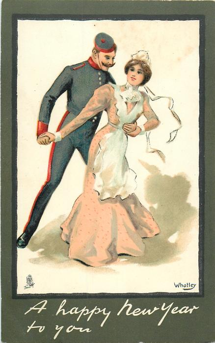 A HAPPY NEW YEAR TO YOU  soldier & maid