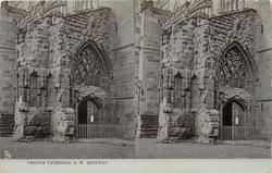 CHESTER CATHEDRAL S.W. GATEWAY