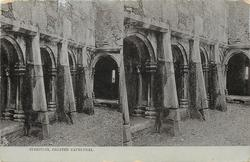 CLOISTERS, CHESTER CATHEDRAL