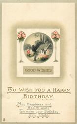 TO WISH YOU A HAPPY BIRTHDAY, GOOD WISHES