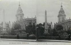 ST. PHILLIP'S CHURCH  exterior  (Tuck error for ST. PHILIP'S)