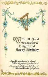 WITH ALL GOOD WISHES FOR A BRIGHT AND HAPPY BIRTHDAY