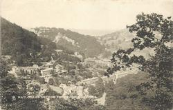MATLOCK-BATH FROM THE PAVILION GARDENS