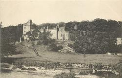 HADDON HALL  distant view