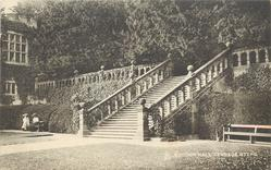 HADDON HALL, TERRACE STEPS