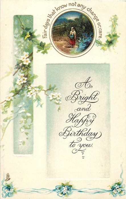A BRIGHT AND HAPPY BIRTHDAY TO YOU  blossom