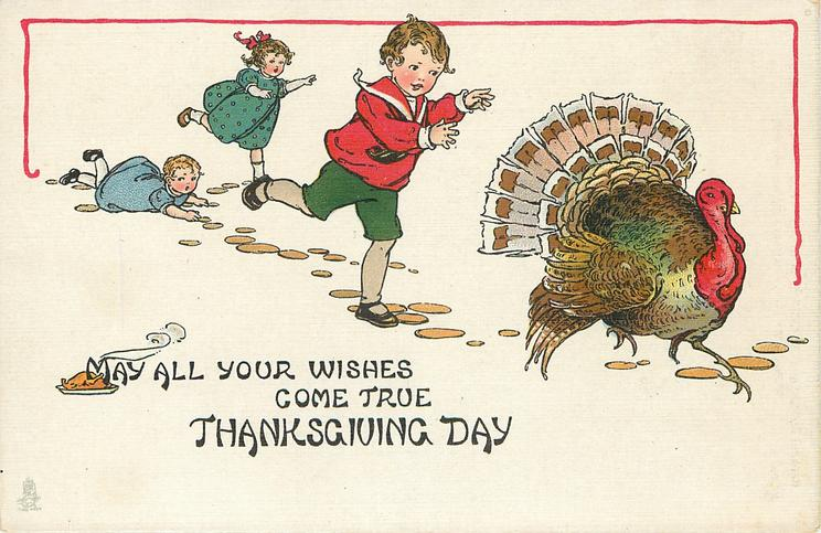 MAY ALL YOUR WISHES COME TRUE THANKSGIVING DAY