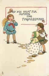 MAY YOU WANT FOR NOTHING THIS THANKSGIVING