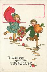 TO WISH YOU A JOYOUS THANKSGIVING