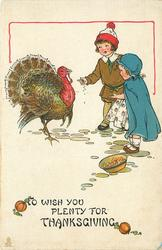 TO WISH YOU PLENTY FOR THANKSGIVING
