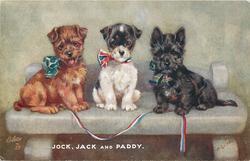 JOCK, JACK AND PADDY
