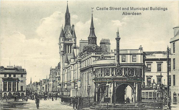 CASTLE STREET AND MUNICIPAL BUILDINGS