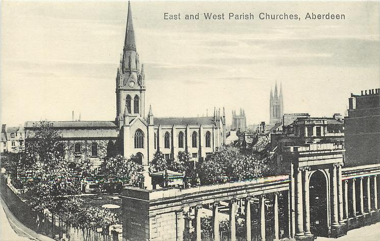 EAST AND WEST PARISH CHURCHES