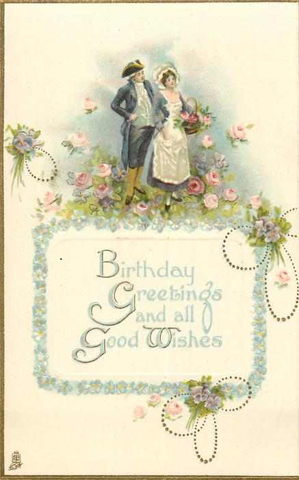 BIRTHDAY GREETINGS AND ALL GOOD WISHES