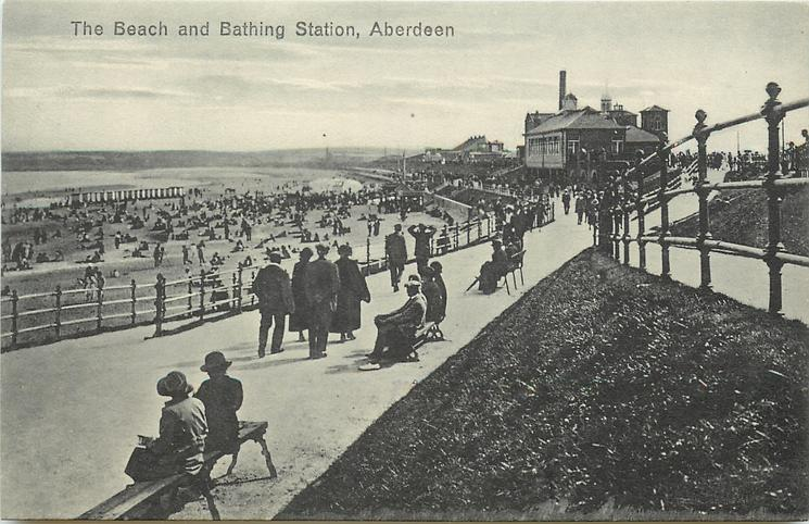 THE BEACH AND BATHING STATION