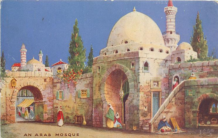 AN ARAB MOSQUE