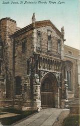 SOUTH PORCH, ST. NICHOLAS'S CHURCH