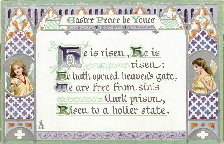 EASTER PEACE BE YOURS