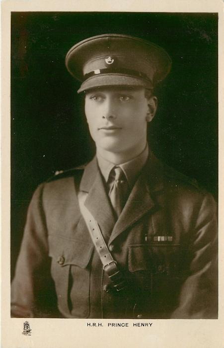 H.R.H.THE DUKE OF GLOUCESTER or H.R.H. PRINCE HENRY