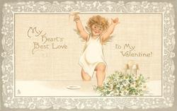 MY HEART'S BEST LOVE TO MY VALENTINE