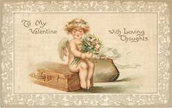 TO MY VALENTINE WITH LOVING THOUGHTS.