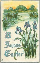 A JOYOUS EASTER  blue iris