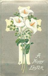 A HAPPY EASTER  calla lilies