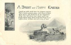 A BRIGHT AND HAPPY EASTER  sphinx & scenes