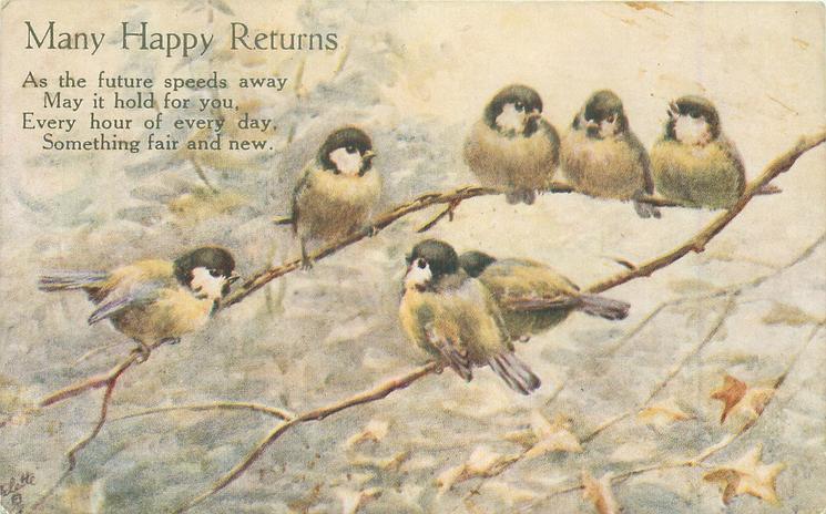 MANY HAPPY RETURNS  seven tits