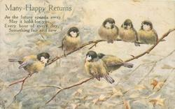 MANY HAPPY RETURNS  seven tits