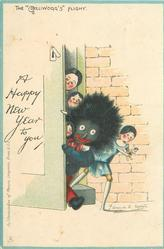 "A HAPPY NEW YEAR TO YOU, THE ""GOLLIWOGG'S"" FLIGHT"