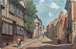 MERMAID STREET & OLD HOSPITAL, RYE
