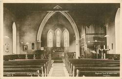 HOLY TRINITY CHURCH, INTERIOR