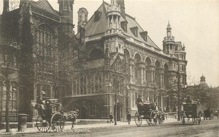CITY OF LONDON SCHOOL