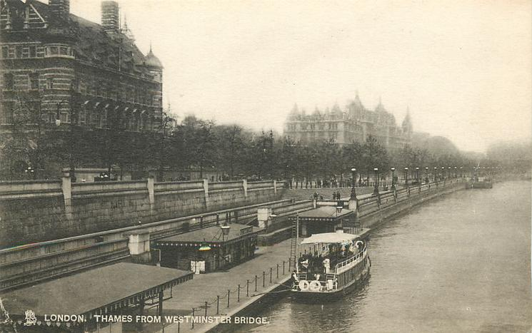THAMES FROM WESTMINSTER BRIDGE